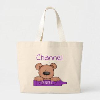 Das Teddybear des Kanals Tasche