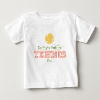 Das Tennis-Probaby-T-Shirt des Vatis zukünftiges Baby T-shirt