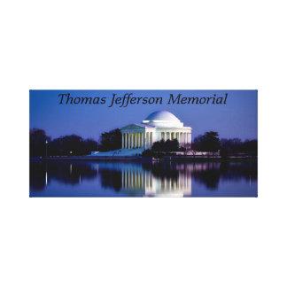 Das Thomas- Jeffersondenkmal Leinwanddruck