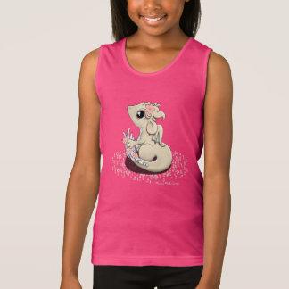 Das Trägershirt des Kirschblüte-Drache-Mädchens Tank Top