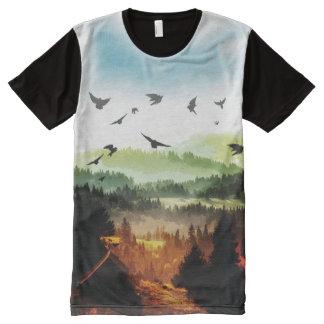 Das Traumland T-Shirt Mit Komplett Bedruckbarer Vorderseite