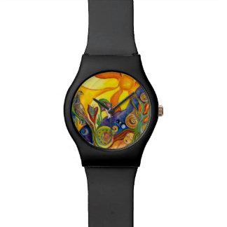 Das Traumphantasie-psychedelische Armbanduhr