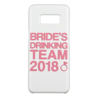 Das trinkende Team 2018 der Braut Case-Mate Samsung Galaxy S8 Hülle