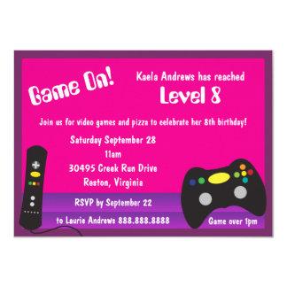 Das Videospiel-LKW-Geburtstags-Party des Mädchens