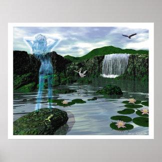 Das Wasser Deva Poster