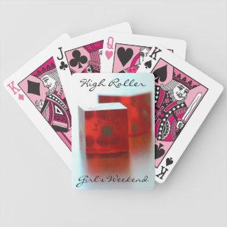 Das Wochenenden-Poker-Spielkarten des hohe Bicycle Spielkarten