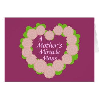 Das Wunder einer Mutter Masse-Fertigen besonders Karte