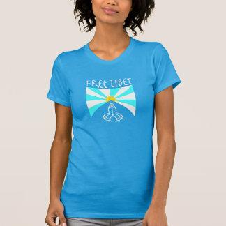 Das Yoga-Shirt freier Tibet-Frauen T-Shirt