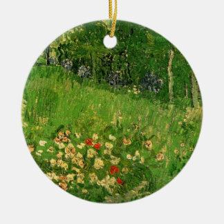 Daubignys Garten durch Vincent van Gogh, Vintage Rundes Keramik Ornament