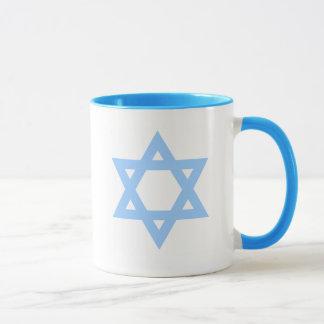 Davidsstern Viva Israel Kaffee-Tasse Tasse