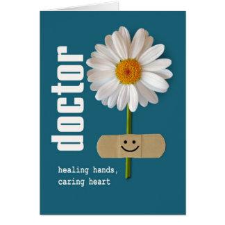 Day glücklicher Doktoren. Kundengerechte Karte