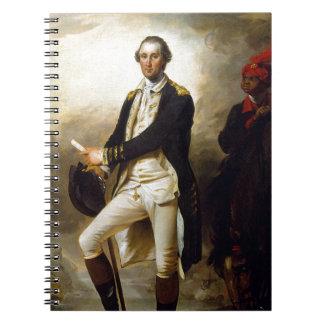 Day Präsidenten: George Washington Spiral Notizblock