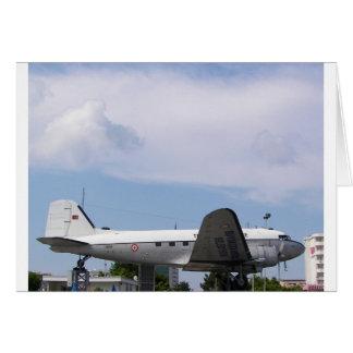 DC3 Dakota Grußkarte