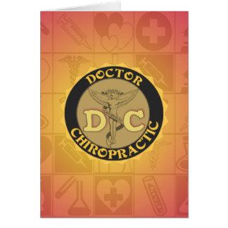 DC-LOGO-DOKTOR CHIROPRACTIC CADUCEUS KARTE