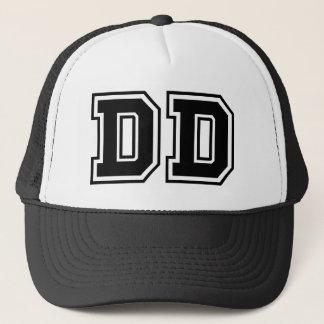 """""""DD"""" Monogramm Truckerkappe"""