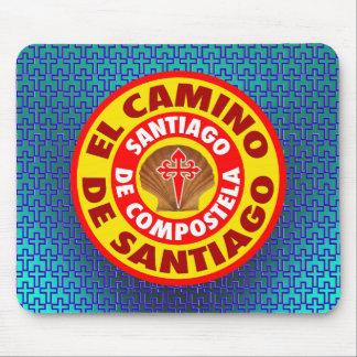 De Santiago EL Camino Mousepads