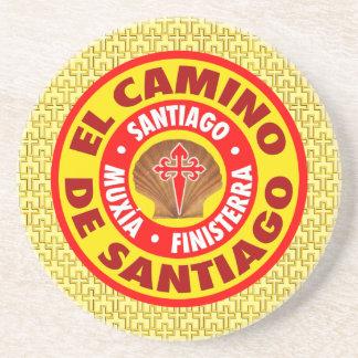De Santiago EL Camino Untersetzer