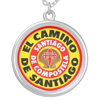 De Santiago EL Camino Versilberte Kette