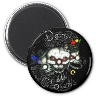 Dead Clowns Runder Magnet 5,7 Cm