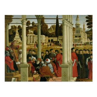 Debatte von St Stephen Postkarte