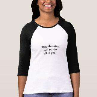 Debatten-T-Shirt T-Shirt