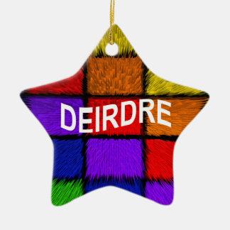 DEIRDRE KERAMIK Stern-Ornament