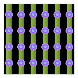 Deko-Kunst-Muster-Minimalismus abstrakt Poster