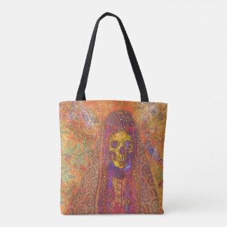 Dekorative gotische Skeleton Taschen-Tasche