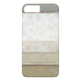 Dekorative Platten-Malerei in den neutralen Farben iPhone 8 Plus/7 Plus Hülle