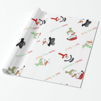 Dekoratives Weihnachten Sankt Cluas elegant im Einpackpapier