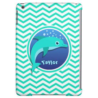 Delphin; Aqua-grünes Zickzack