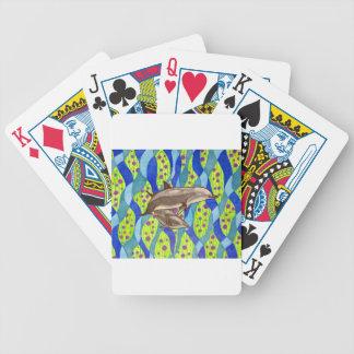 Delphin Bicycle Spielkarten