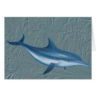 Delphin des Golfs Karte