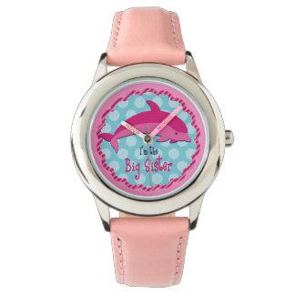 Delphin-große Schwester Armbanduhr