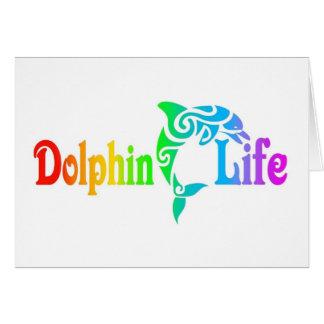 Delphin-Leben Karte