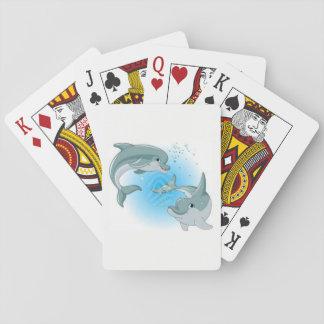 Delphin-Spielkarten Spielkarten