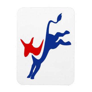 Demokrat-Esel-Prämien-Magnet