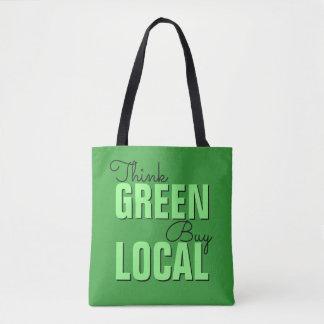 Denke ökologisch, Kauf-Einheimischtaschen