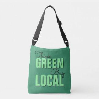 Denke ökologisch, Kauf-Einheimischtaschen Tragetaschen Mit Langen Trägern