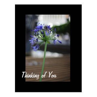 Denken an Sie Postkarten