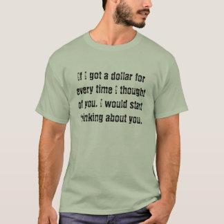 Denken an Sie T-Shirt