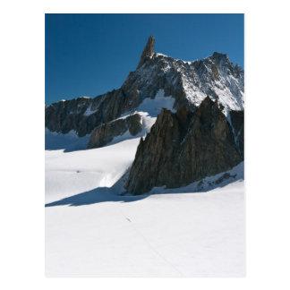 Dent du Geant - Mont Blanc Postkarte