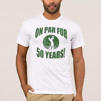 Der 50. Geburtstag des Golfspielers T-Shirt