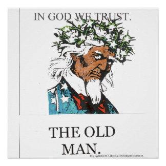 Der alte Mann Poster
