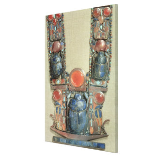 Der Anhänger des Königs in Form einer Bootsvertret Gespannte Galeriedrucke