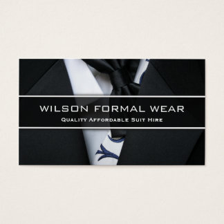 Der Anzugs-formale Abnutzung der Männer, Visitenkarte