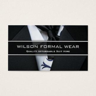 Der Anzugs-formale Abnutzung der Männer, Visitenkarten