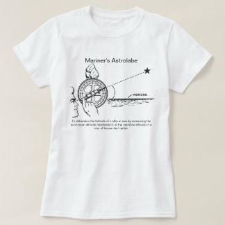 Der Astrolabe des Seemannes T-Shirt