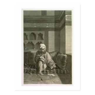 Der Astronom, den Kostümen von des Volumen-II und Postkarte