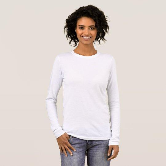 Damen Bella+Canvas Langarm-T-Shirt